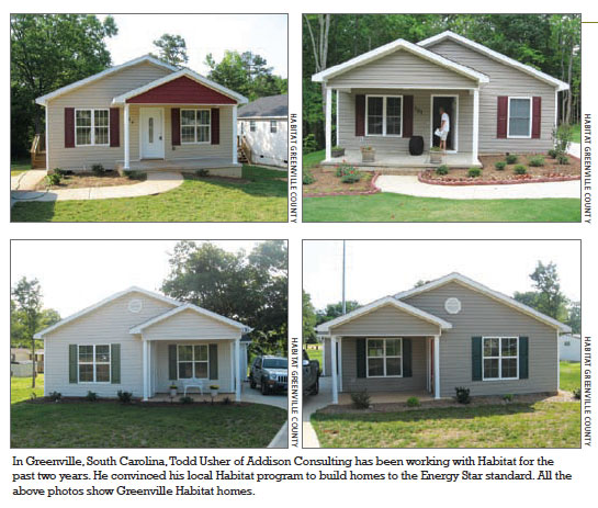 home energy magazine :: raters offer time and talent to habitat for