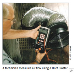 Duct Blaster Tool