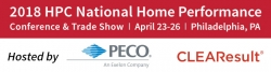 PECO & CLEAResult to Host the 2018 HPC National Home Performance Conference & Trade Show in Philadelphia