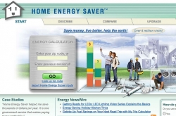 Home Energy Saver Website Leads the Way to Savingstown