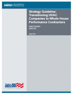 Transitioning HVAC Companies to Whole House Performance Contractors